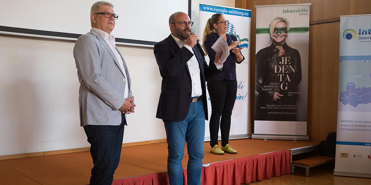 Lebenshilfe Salzburg und Lebenshilfe Berchtesgadener Land arbeiten weiterhin gemeinsam an inklusivenProjekten